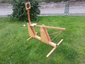 Schokokusswurfmaschine klein
